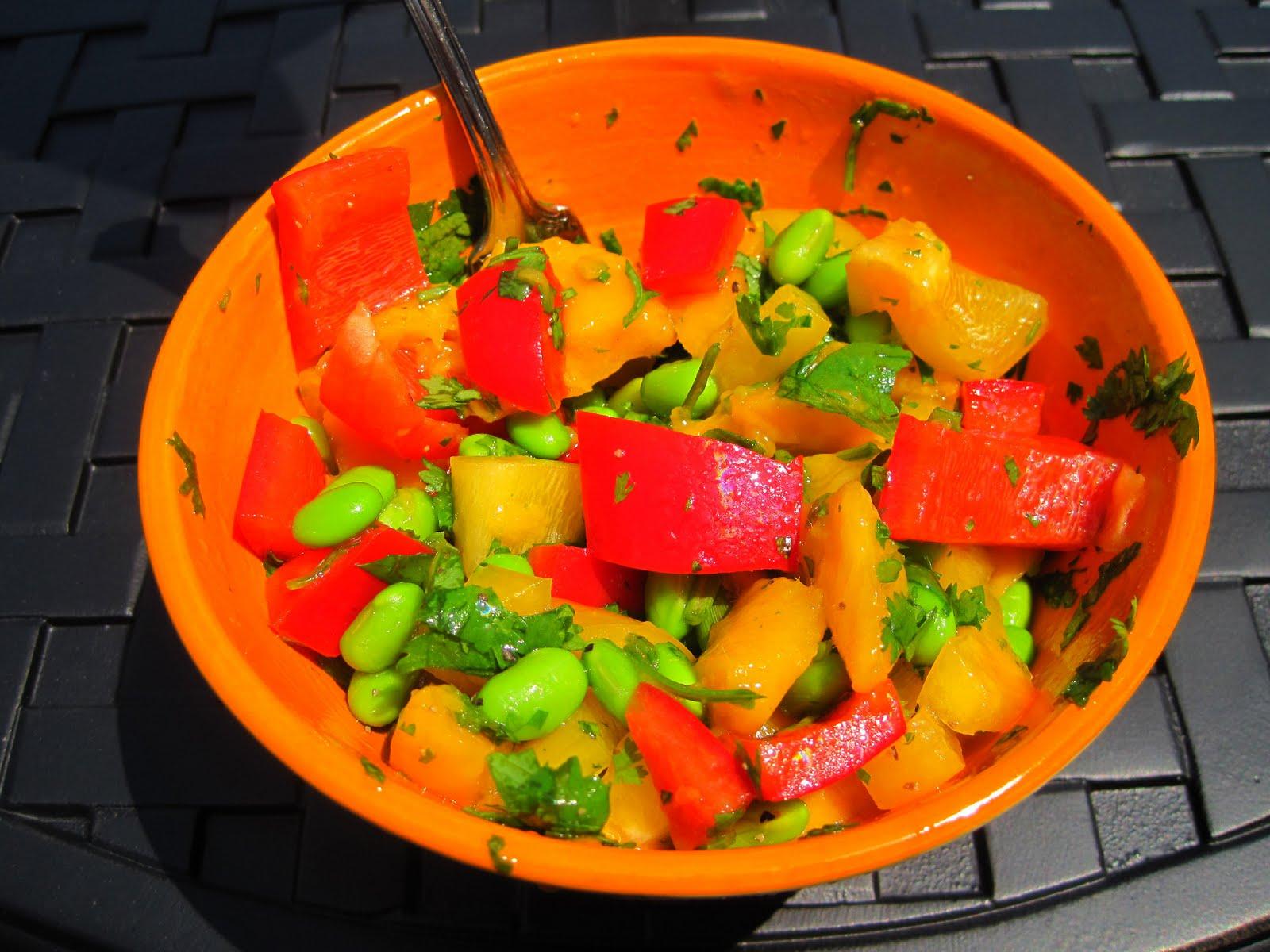 Mango Salad | Skinny Muffin