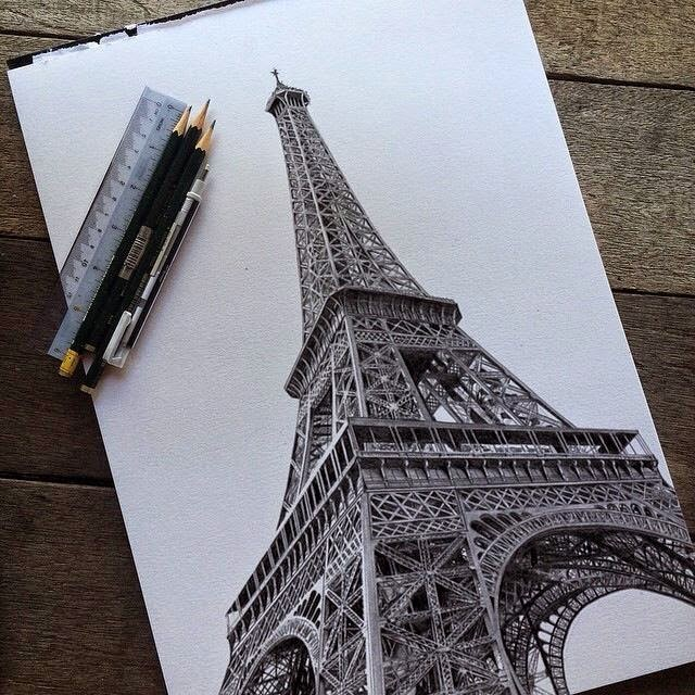Hasil Seni Pensil