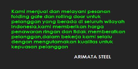 gambar untuk arimata steel