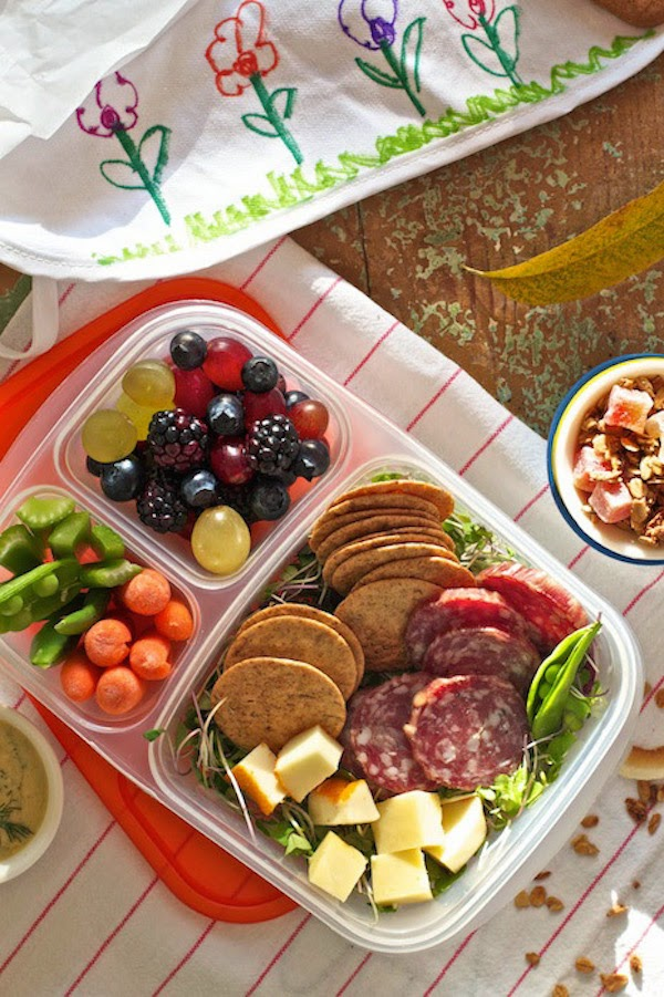 Homemade Lunchables