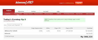 Cara Mendaftar Adsensecamp ( Adsense Indonesia )