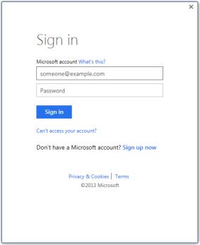 Nonaktifkan Login Akun Microsoft Office 2013