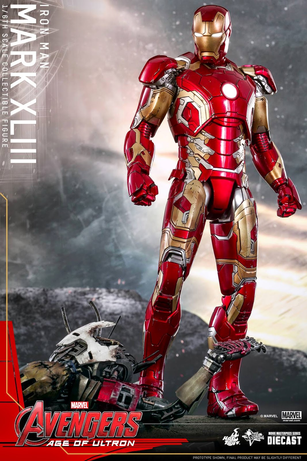 The avengers age of ultron iron man mark 43