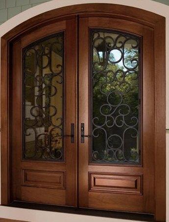 Puertas y cocinas jaramillo puerta modelo paris for Puertas de madera en concepcion