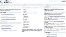 Estadísticas mundiales online Index Mundi