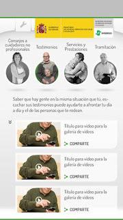Capturas de pantalla de la aplicación Dependencia en iOS