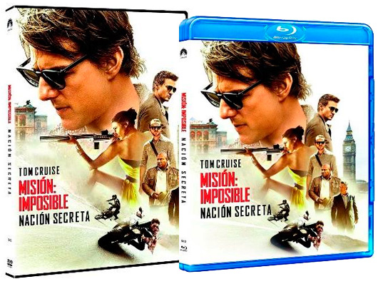 A la venta 'Misión: Imposible - Nación Secreta' en DVD y Blu-ray, además de pack con la saga
