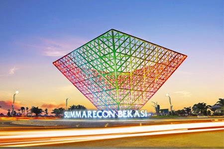 Kawasan terpadu Summarecon Bekasi