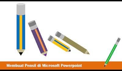 Pensil, Hiasan Pensil, Ilustrasi Pensil, Kreasi Pensil, Kreasi Powerpoint