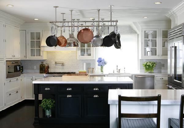 Black And White Kitchen With Island white kitchen islands | home luxury