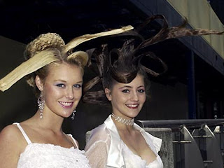 gaya model rambut unik paling fenomenal didunia trend