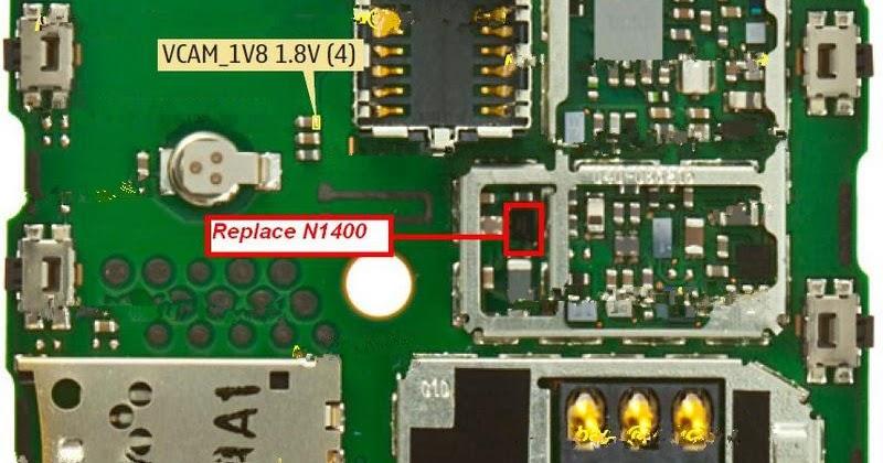 Solusi Lampu Kamera Nokia X2 00
