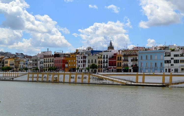 Seville sevilla river triana