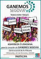 Asamblea creación Ganemos Segovia