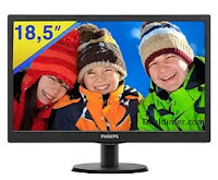 Philips 193V5L 18.5 inch LED Monitor