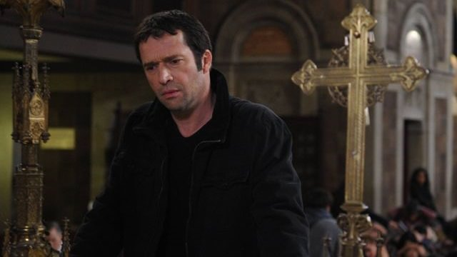Joe Carroll (James Purefoy) en The Following 2x14 Silence