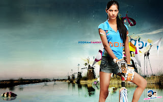 poonam pandey cricket wallpaper
