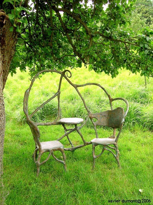 Nibelle et baudouin xavier dumont sculptures de jardin for Jardin xavier
