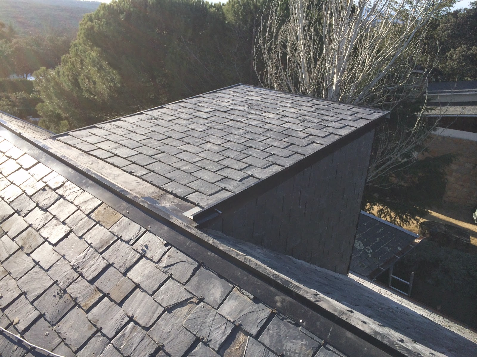 Reparacion de tejados de pizarra san jos tejados de pizarra - Tejados de pizarra ...