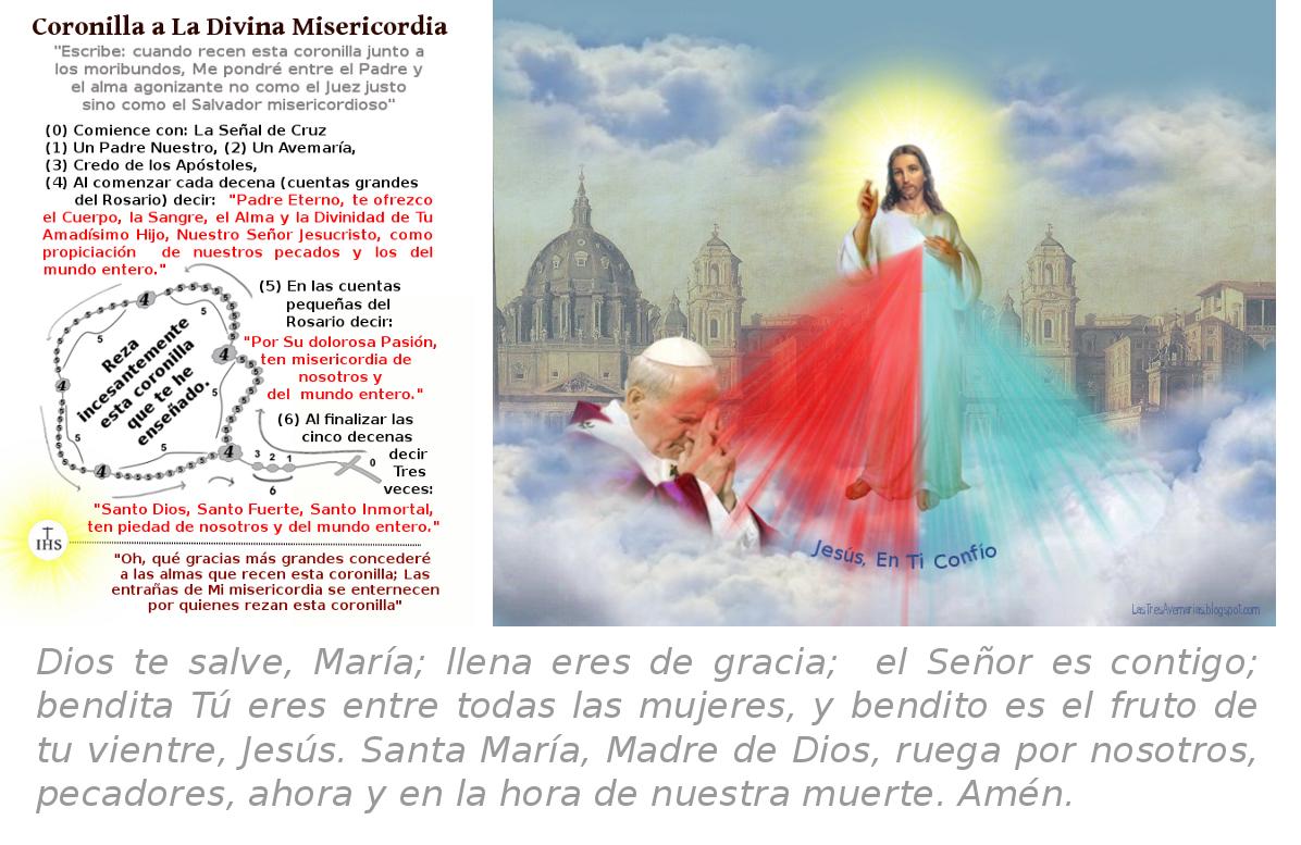 imagen de jesus misericordiosos con el papa