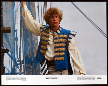 Christopher Atkins en The pirate movie