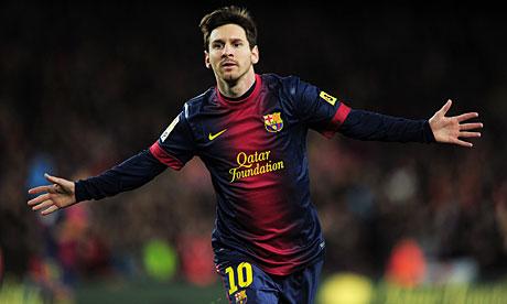 Lionel Messi (Argentina/Barcelona)