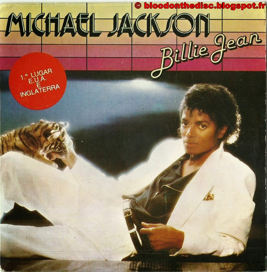 Billie Jean 45T Porto Front Cover