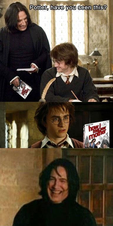 How I Met Your Mother - Troll Snape