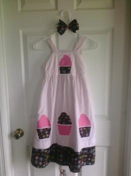 Cupcake Makeover Dress!