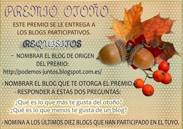 Premio otoño