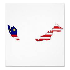Malaysia-Flag map