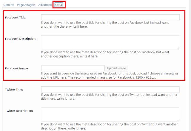 Hiệu chỉnh nội dung hiển thị trên Facebook khi sử dụng Yoast SEO