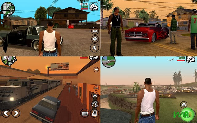Grand Theft Auto- San Andreas android