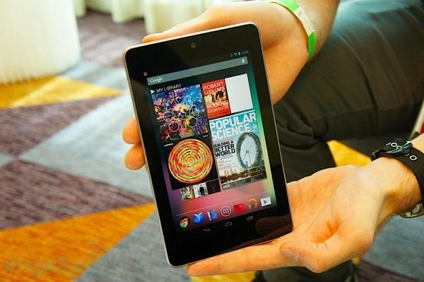 Se vendieron 4.5 millones de unidades de la Nexus 7, en el 2012