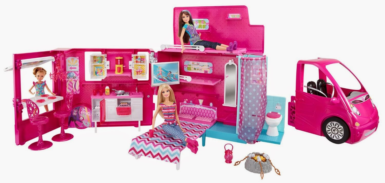 IDEE REGALO...VEDERLI E' VOLERLI: Barbie Glam Camper per le nostre ...