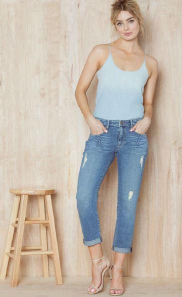 designer boyfriend jeans