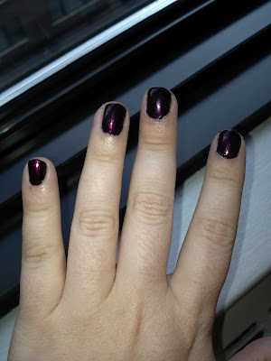 Nail of the Day-OPI Every Month is Oktoberfest