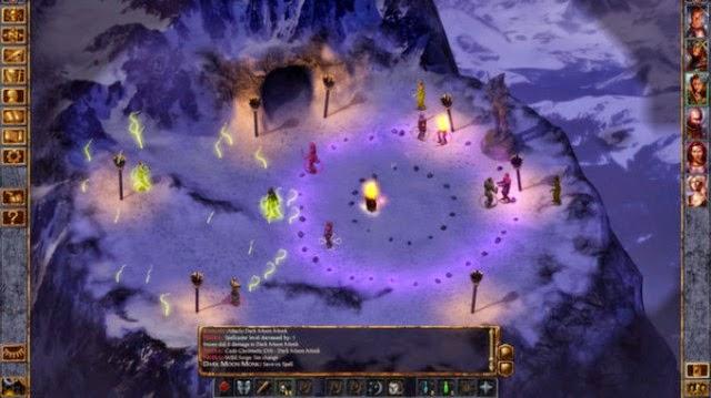 Baldur's Gate 1 PC Games Gameplay