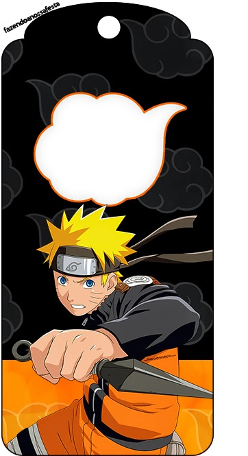 Free Printable Book Marks of Naruto.
