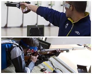 Felipe Wu e Cassio Rippel - Campeonato Brasileiro de Carabina, Pistola e Rifle 2013 - Tiro Esportivo