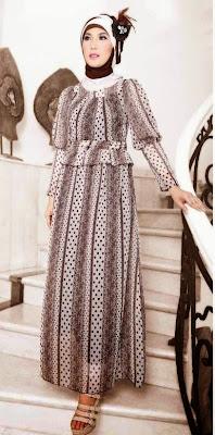 Model Baju Pesta Muslimah Terbaru 2015