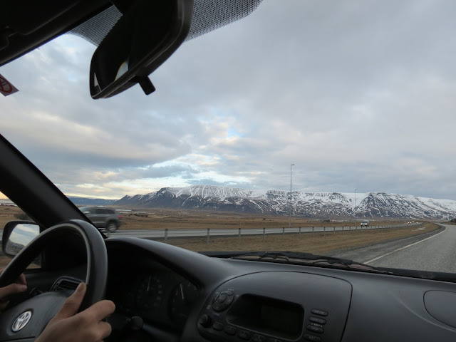 Iceland driving mountains