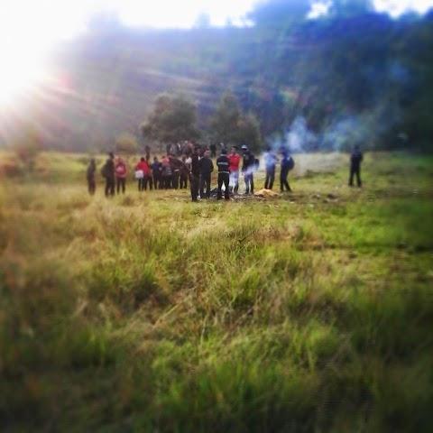 Sehari di bumi perkemahan Wonolelo, Sawangan, Magelang