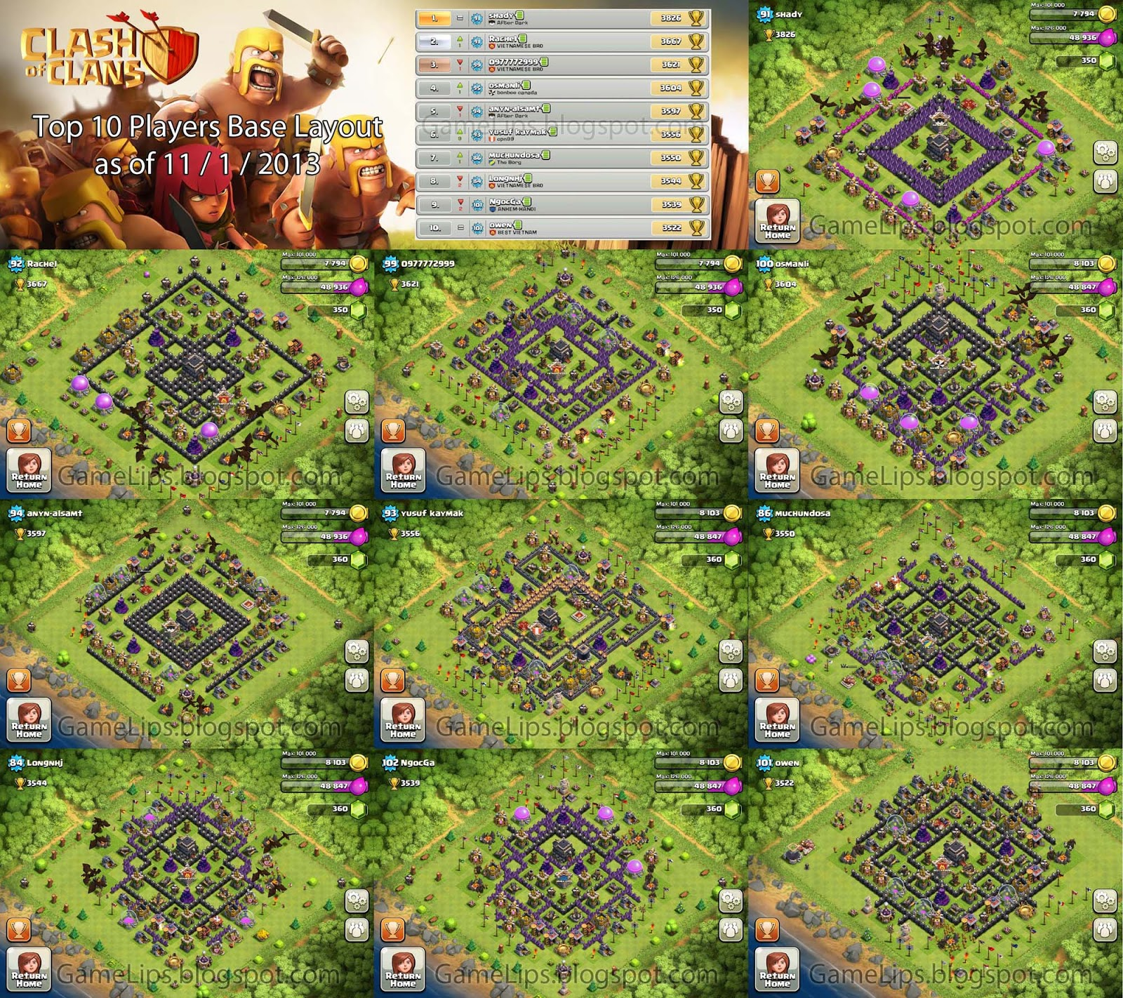 Clash of Clans Best Base Layout