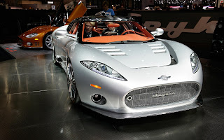 Spyker C8 Aileron - presentation at the Geneva car show