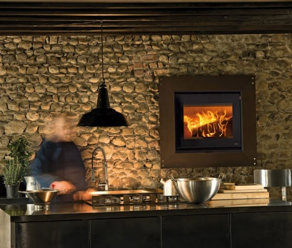 Contemporary Fireplaces With Rustic Designs By Modus