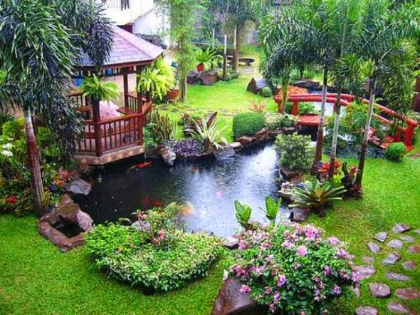 Good Asian Style Garden