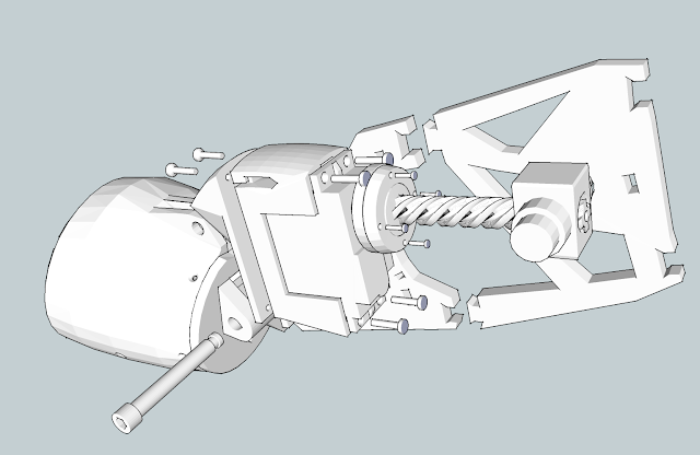 inmoov bicep assembly