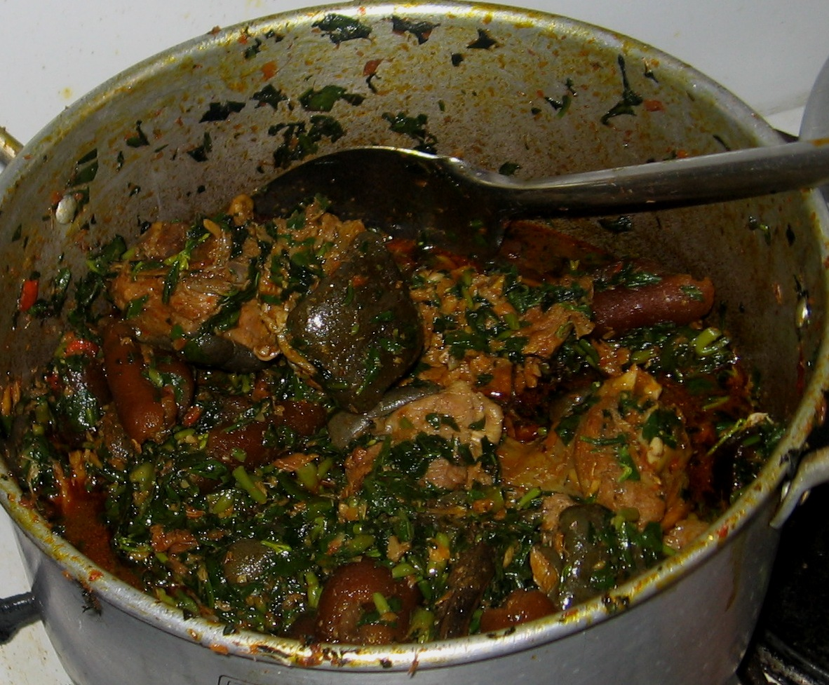 How To Cook Edikang Ikong Vegetable Soup