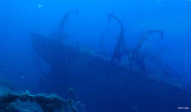 υποβρυχια φωτογραφια ναυαγιου Πατρις-Κώστας Λαδάς